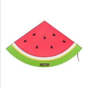 KATE SPADE Splash Out Watermelon Clutch Bag